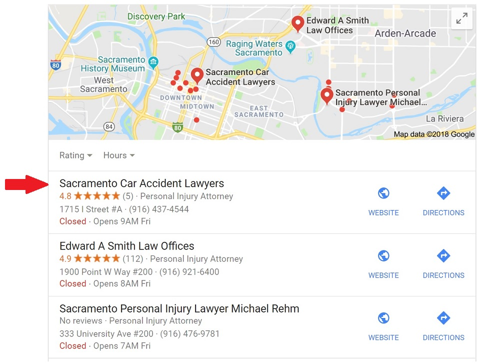 Google Map Listing >> Reporting Fake Or Spam Attorney Listings In Google Maps Case Study