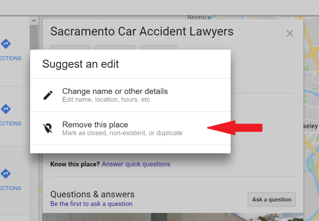 Reporting Fake or Spam Attorney Listings in Google Maps [Case Study