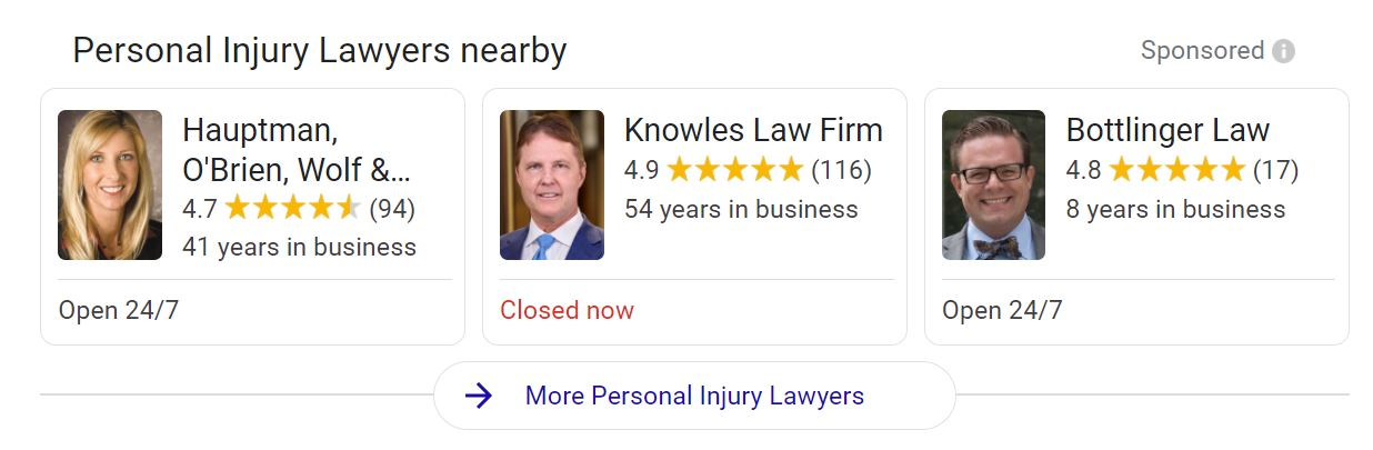 screenshot omaha personal injury LSA