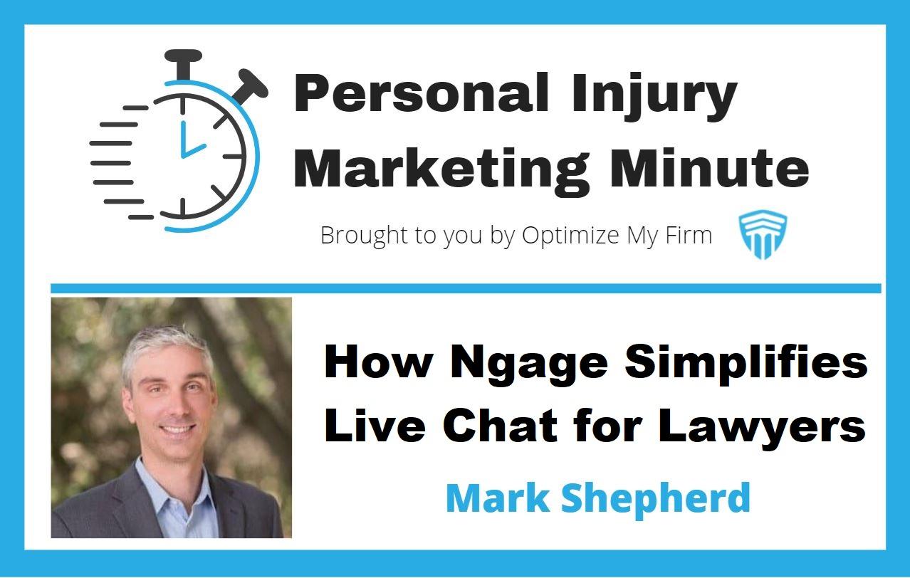 Personal Injury Marketing Minute #10